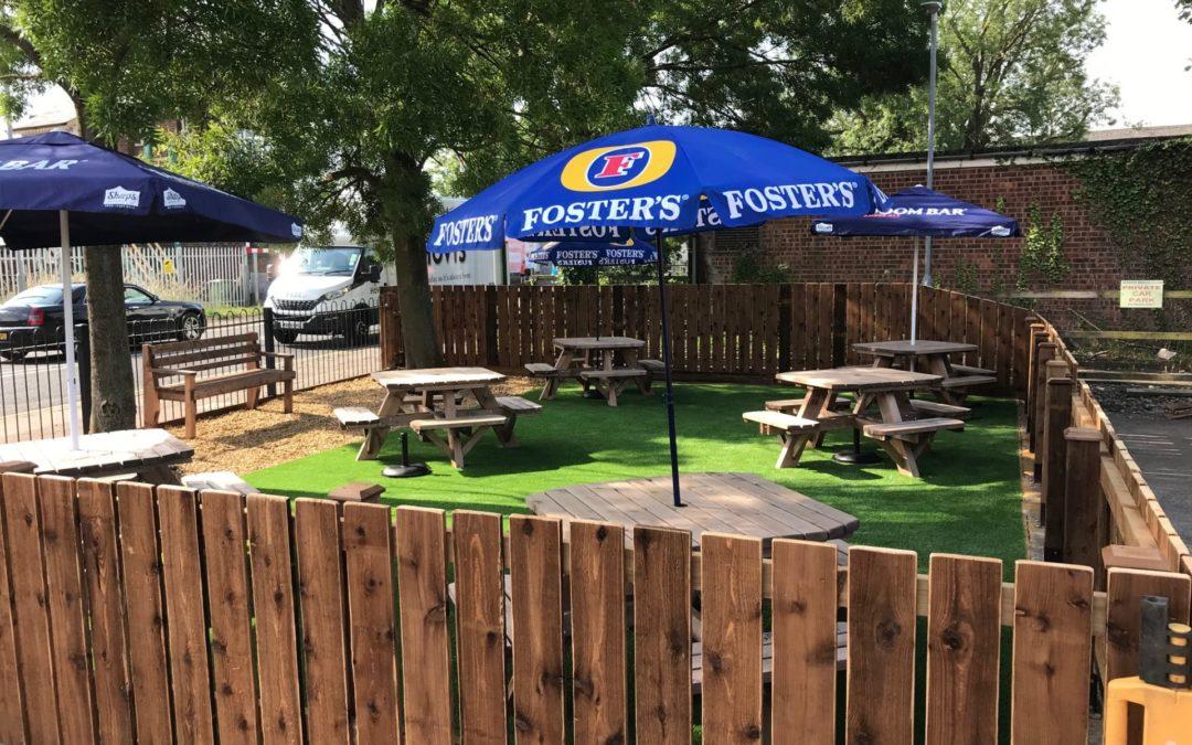 New Beer Garden Opens