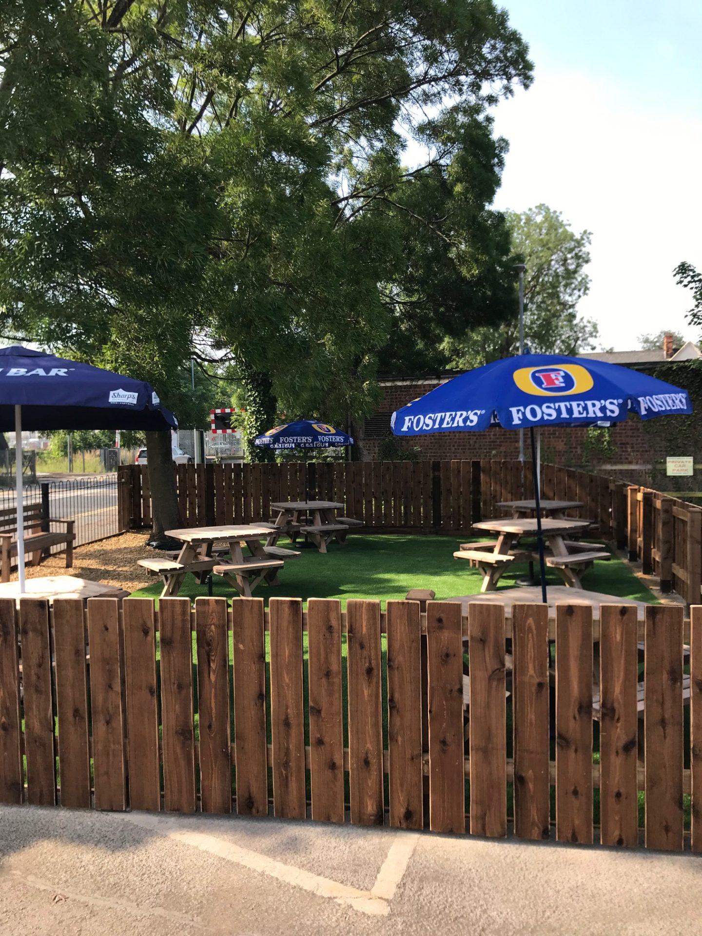 March Braza Beer Garden